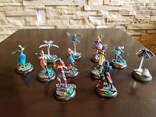 Colette Crew Painted - Malifaux - Arcanists - Smoke and Mirrors Extras