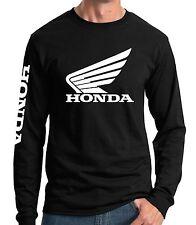 Honda Wing Long Sleeve T-shirt Jersey HRC Motorcycle Racing CRF 250 450 TRX CBR