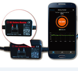 UK QUICKLYNKS BM2 12V Car Battery Monitor Tester Bluetooth 4.0 for iOS & Android