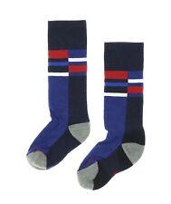 Smartwool Kids Wintersport Stripe Socks in Navy 4722 Size S