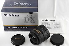 NEAR MINT!!! Tokina AT-X 107 DX 10-17mm f3.5-4.5 DX DG Objektiv für Canon #767