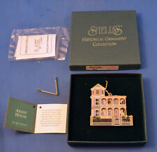 1996 The Artist House Key West of Shelia's Historical Ornament Collection