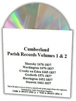 Cumberland Parish Registers - Complete Phillimore Marriages Records