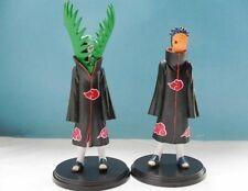 2pcs/lot 15cm Anime NARUTO Zetsu VS Uchiha Obito PVC Action Figures Model Toys