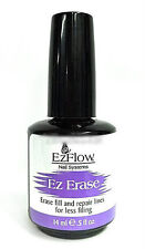 EZFlow Nail Essential- EZ ERASE 0.5oz -erase fill lines on acrylics,wraps,gel...
