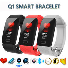 Waterproof Smart Watch Q1 Fitness Tracker Sport Watch for iOS Android 2019 New