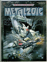 Metalzoic Softcover Graphic Novel DC Pat Mills Kevin O'Neill