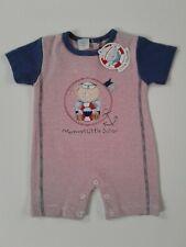 Baby boys clothes sailor romper 0-3 3-6 6-9 months