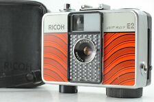 【Near Mint】 Ricoh Auto Half E2 Line RED Camera w/ 25mm F/2.8 lens From JAPAN 41