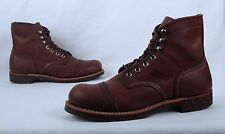 NEW!! Red Wing 'Iron Ranger' Boot  Brown (8111) - Size 7.5 D  (B30)
