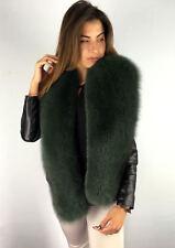 Finn Fox Fur Boa 63 Inch Saga Furs Collar Stole In Green