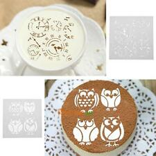 3pcs Clock Animal Cage Plastic Printing Fondant Cake Cookies Mold DIY Mold Decor