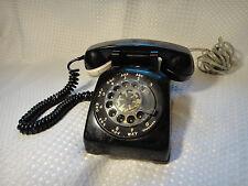 Vintage Western Electric Rotary Telephone Black Desk Phone w/ Tone Dialer