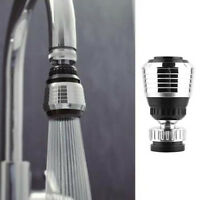 360° Swivel Water Saving Tap Aerator Diffuser Faucet Nozzle Filter Connector HOT