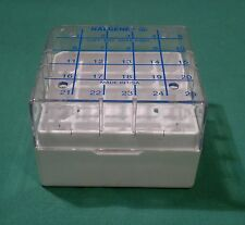 Nalgene Polycarbonate CryoBox 5025-0505 Vial Rack, 76 x 76 x 52mm, 5x5 Array