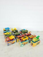 Collection Of 15 Vintage Matchbox Superfast Toy Cars Complete Wit Original Boxes
