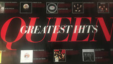 Queen Greatest Hits Authentic Promo Poster Rare Banner 4' X 2' 1981