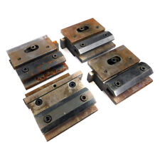 (Lot of 4) Amada #10 Press Brake Tooling Punch Die Holders w/ Single Clamp Plate