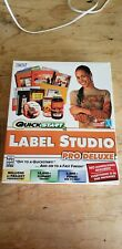 QuickStart Label Studio Pro Deluxe Software New Sealed