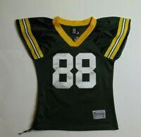Reebok Women S Jermichael Finley Green Bay Packers Jersey NFL Football #88 Sewn
