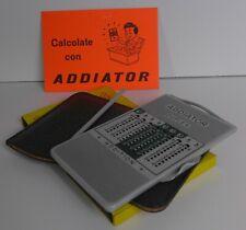 Addiator Duplex. Aluminium.  Mid-Century. Ca. 1970. Fabrikneu, Mint-Condition.