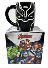 New listing Marvel Black Panther Avengers Ceramic Sculpted Mug -20 Oz
