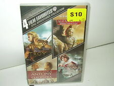 Antony And Cleopatra/Troy/Alexander/Clash Of The Titans (DVD, Region 1) NEW