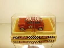 SLOT CAR SCALEXTRIC 09-C007 MINI AUSTIN MORRIS #7 - RED - GOOD CONDITION IN BOX