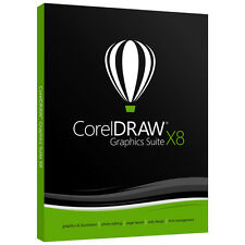 Corel Draw Graphic Soft X8. Full Version 100%Original Free Shipping 6M Warranty