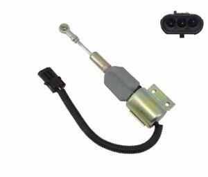New Fuel Solenoid for Case/International Harvester 87420953 J932530 24V