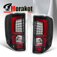 Chevy Silverado 07-2013 2nd Generation Red C-Streak LED Tail Light Black Clear