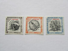 HONDURAS SCOTT C066 TO CO68 SPECIMENS 1953 MNH VF