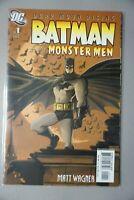 BATMAN & The Monster Men #1 3 4 5 6 (2006) DC Set Run Lot Matt Wagner