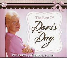 THE BEST OF DORIS DAY NEW 2 CD SET 40 ORIGINAL SONGS GREATEST HITS