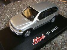 BMW x 5 silbermet. SCHUCO, échelle 1:64