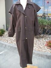 """NEW"" STOCKMANS OR OILSKIN FULL LENGTH COATS.ONLY SIZE AVAILABLE  MEDIUM"