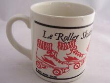 Jebba Green Le Roller Skating Skate Coffee Mug Cup 1978 England Vintage