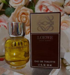 ❤️ LOEWE POUR HOMME,1.7 oz.50ml. EAU DE TOILETTE,SPLASH, first version!!!!!