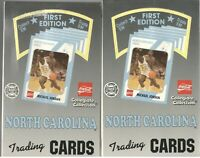 x2 Box Lot 1989-90 UNC 1st Edition Basketball cards Michael Jordan PSA from case