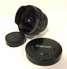 Canon Fish-Eye Lens FD 15mm 1:2.8 w/Built in Filters