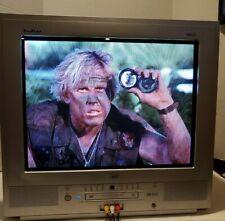 "RCA Truflat 20"" CRT TV TV/DVD Combo Model# F20TF10 Tested EUC"