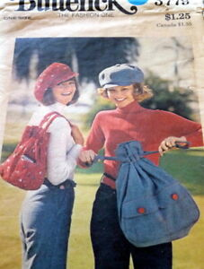 *LOVELY VTG 1970s BAGS BUTTERICK Sewing Pattern