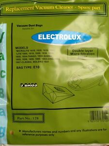 Packet of 5 Electrolux E42N/E10 Lite 1800 Vacuum Cleaner Dust Bag - SDB128