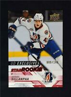 2018-19 UD Upper Deck CHL Star Rookies Exclusives 311 Joonas Sillanpaa 100