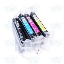 4 Genuine Epson 200 Black/Color Ink XP300 XP310 WF2530 WF2540 WF2520-NOT Initial