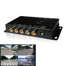 Black Car Parking Camera View Front/Rear/Left/Right Image Split-Screen Box Kit