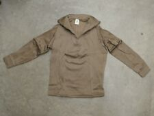 New Polypro Cold Weather Zip Up Top ECWCS Thermal USGI Army Brown - Medium