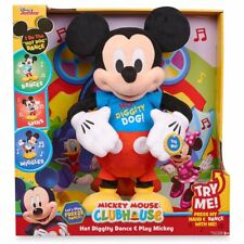 DISNEY MICKEY MOUSE PRESS MY HAND & DANCE WITH ME Clubhouse Hot Diggity Dancing