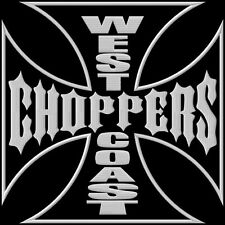 West Coast Choppers XL toppa ricamata termoadesivo iron-on patch Aufnäher