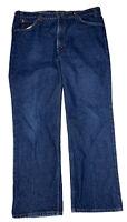 Vtg Levi's 517 Men's Bootcut Orange Tab Dark Blue Denim Jeans Size 40 X 30 USA